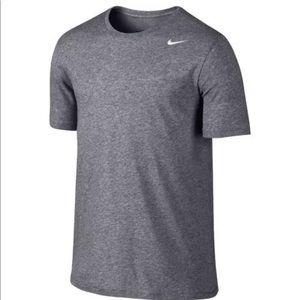 Nike Dri-Fit Solid Tee 706625 091 Grey